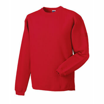Russell Crew Neck Set In Sweatshirt - Classic Red