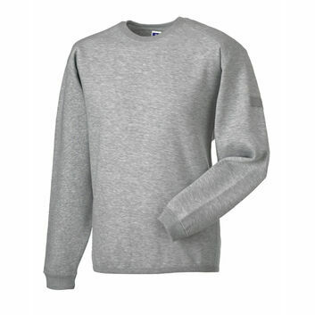 Russell Crew Neck Set In Sweatshirt - Light Oxford