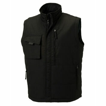 Russell Heavy Duty Gilet - Black