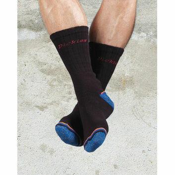 Dickies Strong Work Socks (3 Pack) - Black