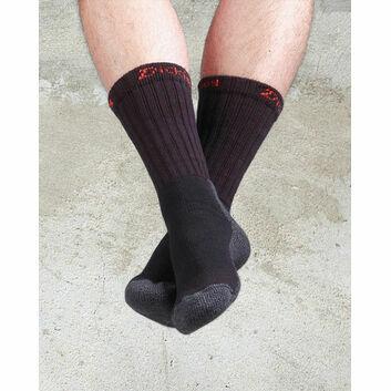 Dickies Industrial Work Socks (2 Pack) - Black