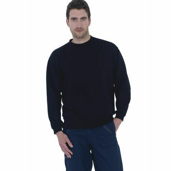 Ultimate Clothing Collection 50/50 Set-In Sweatshirt - Navy Blue