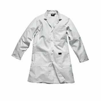 Dickies Redhawk Warehouse Coat - White