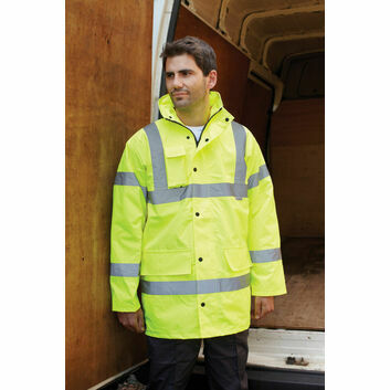 Dickies Hi Vis Motorway Jacket - Yellow