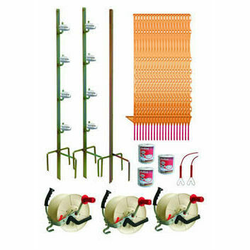 Hotline 500m Three Reel System TP500-CP Electric Fence Kit