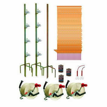 Hotline 500m Three Reel System TP500-S Electric Fence Kit