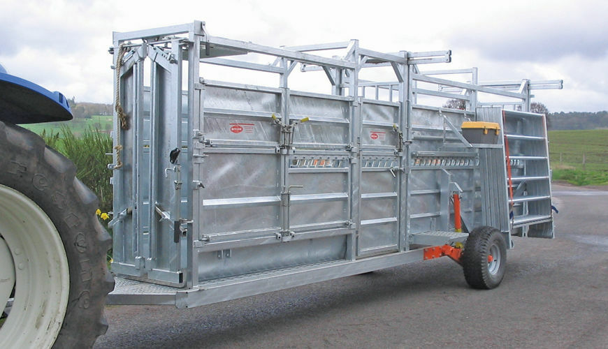 ritchie mobile cattle crate only  u00a311 800 00