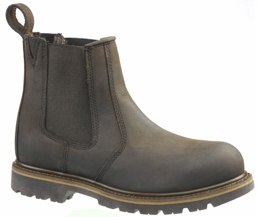 Buckler Buckflex B1150SM Chocolate Brown Safety Dealer Boots additional 1