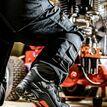 Buckler Nubuckz NKZ102BK Black Safety Lace Boot additional 4