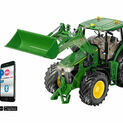 Siku John Deere 7310R with Front Loader and Bluetooth App Control additional 1