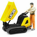 Bruder JCB Mini Dumpster HTD5 with Construction Worker 1:16 additional 3