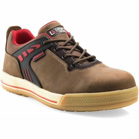 Buckler SAM Largo Bay Brown Safety Lace Sneaker Shoes