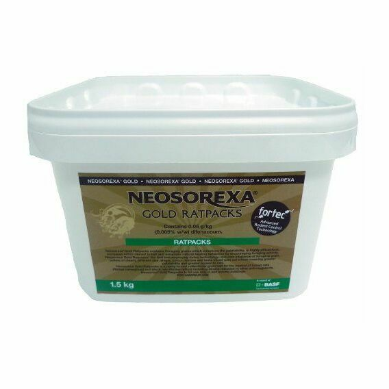 Neosorexa Gold Ratpacks 1.5KG