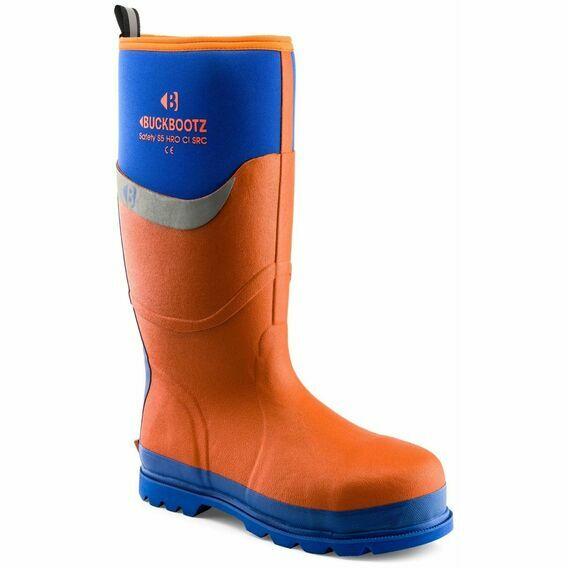 Buckler Buckbootz S5 BBZ6000OR Orange Safety Wellington Boot