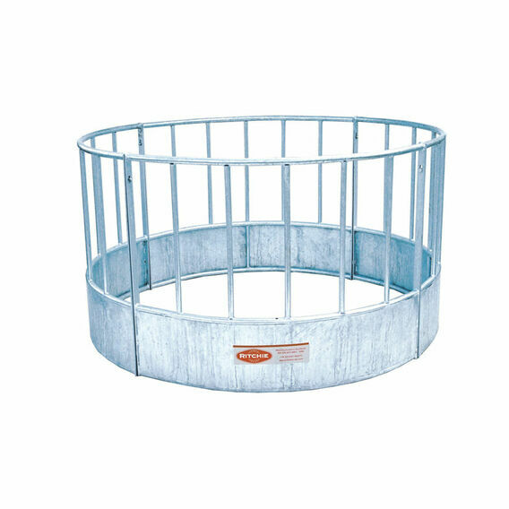 Ritchie Sheep Feed Ring - Vertical Railed