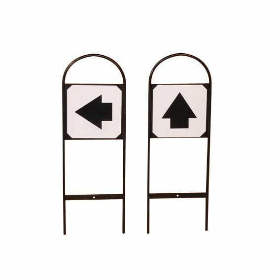 Stubbs Tread In Markers Direction Sign S631 - 2 PACK