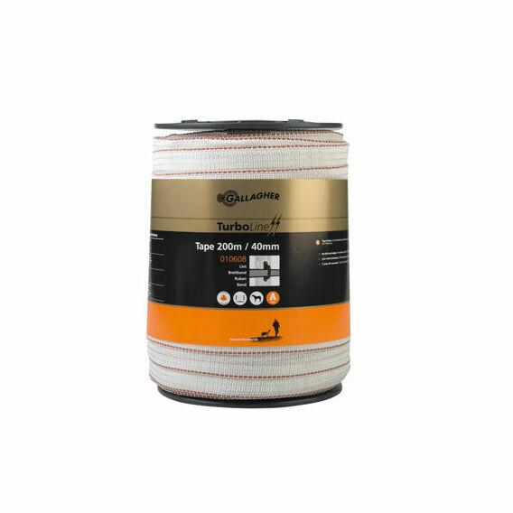 Gallagher TurboStar 40mm White Tape - 200m