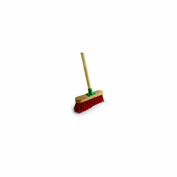 Bentley Red PVC Varnished Broom - 4'6