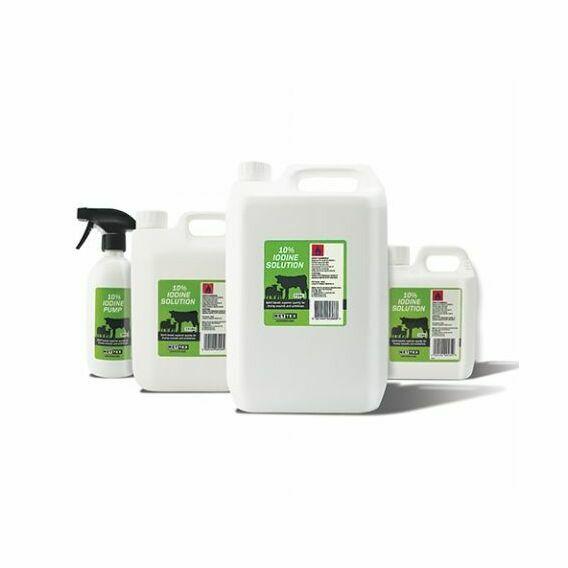 Iodine BP 10% Solution - Various Sizes