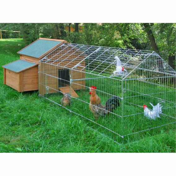 Galvanised Outdoor Poultry & Pet Animal Pen/Run