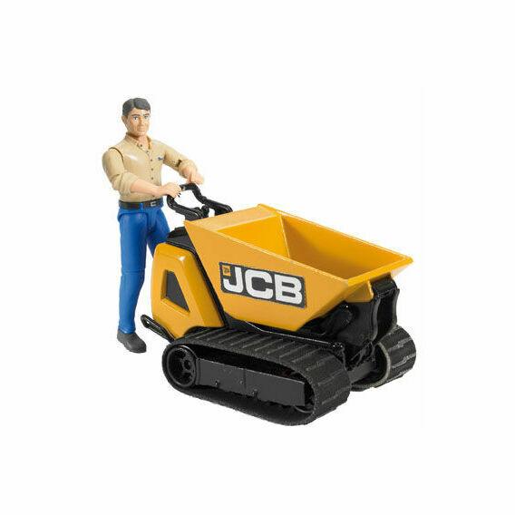 Bruder JCB Mini Dumpster HTD5 with Construction Worker 1:16