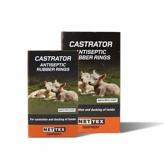 NETTEX Castration Rings - 100 Pack