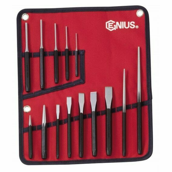 Genius Tools Punch & Chisel Set