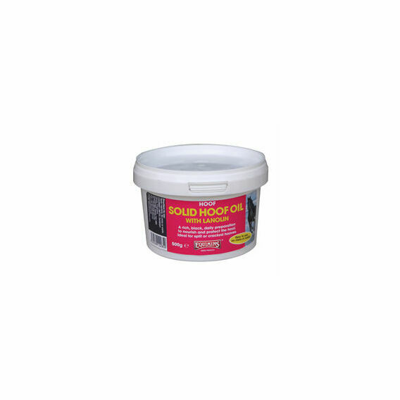 Equimins Solid Hoof Oil With Lanolin 500g