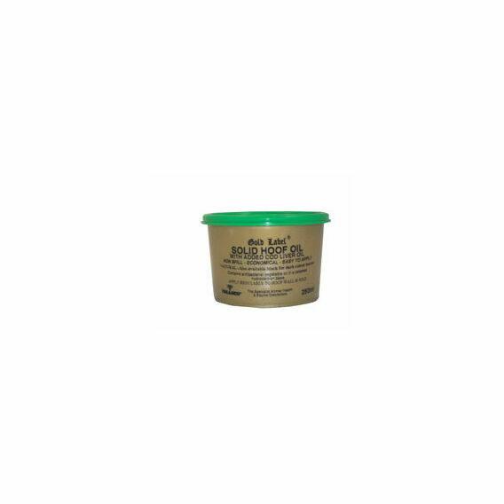 Gold Label Solid Hoof Oil - Natural