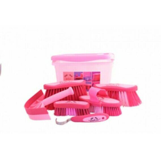 Bentley Slip-Not Soft Horse Grooming Kit