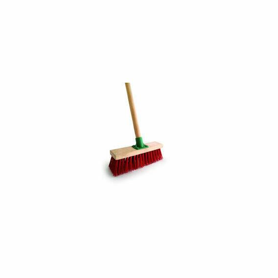 Bentley Red PVC Yard Broom - 11