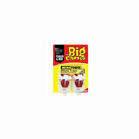 The Big Cheese Ultra Power Mouse Trap - Twin Pack