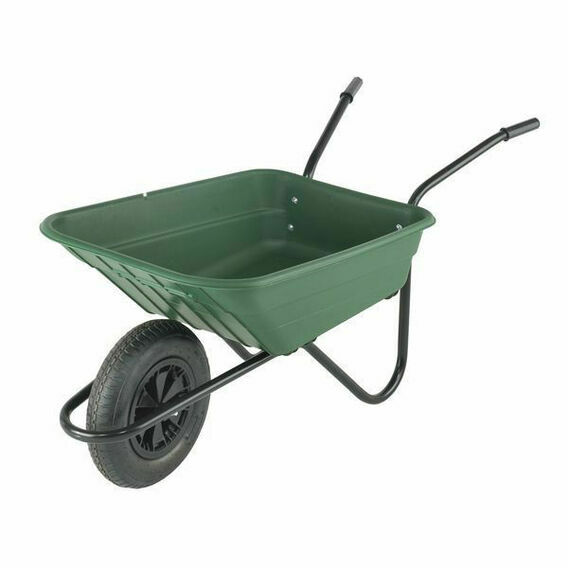 Shire Wheelbarrow 90L Racing Green