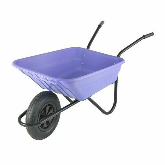 Shire Wheelbarrow 90L Lilac