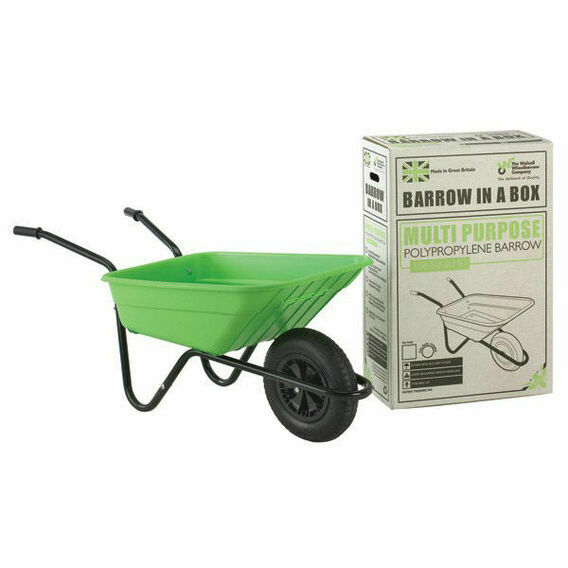 Shire Wheelbarrow 90L Lime Green