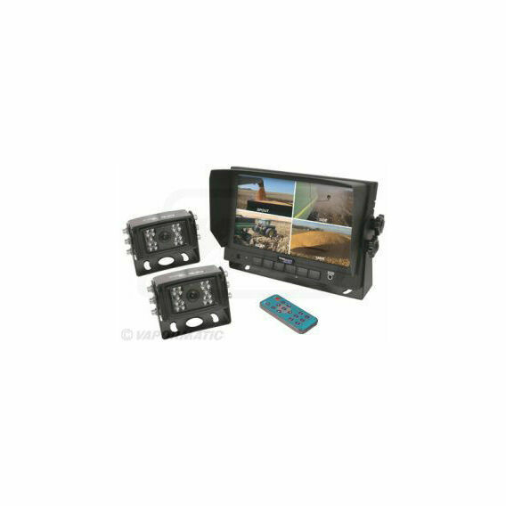 CabCam Colour Kit With 2 Cameras