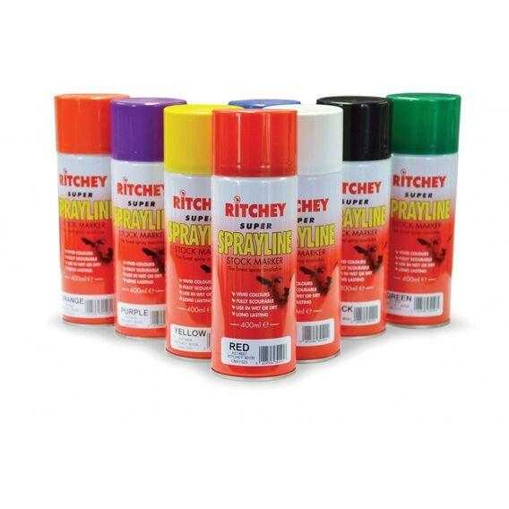 Ritchey Super Sprayline Stock Marker - 12 x 400ml