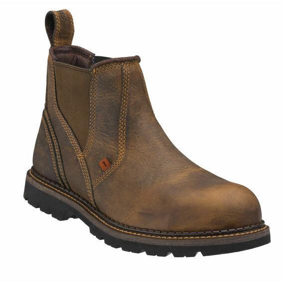 Buckler Buckflex B1555SM Brown Safety Dealer Boots