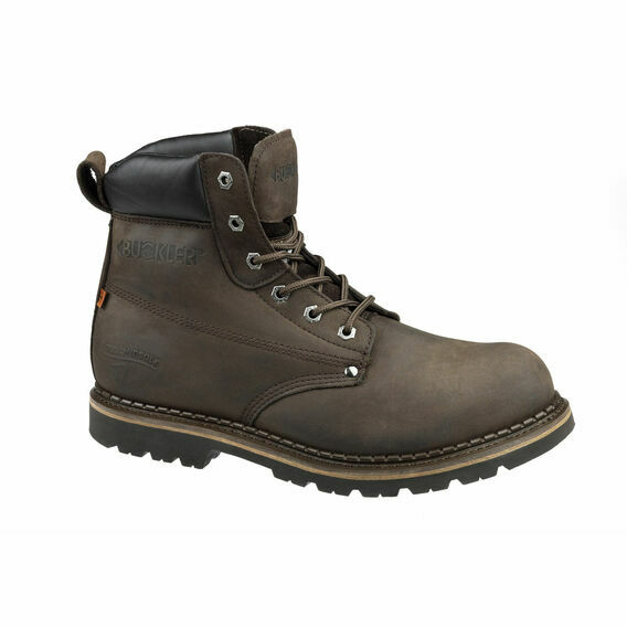 Buckler B300SMCO Brown Lace Safety Work Boots