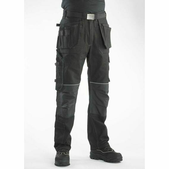 Buckler BX001 Buckskinz Work Trousers Black - Regular