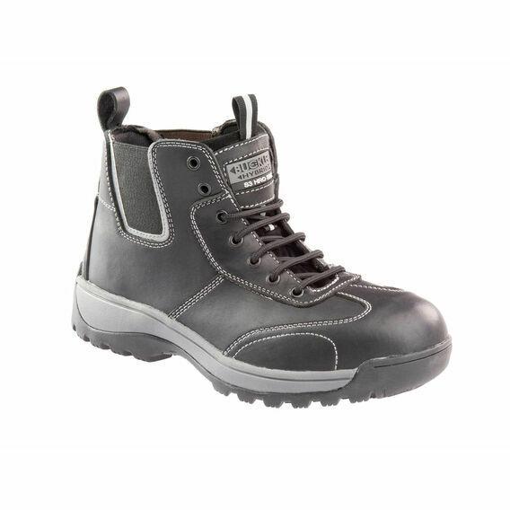 Buckler BHYB1BK Hybridz Safety Lace/Dealer Boots - Black