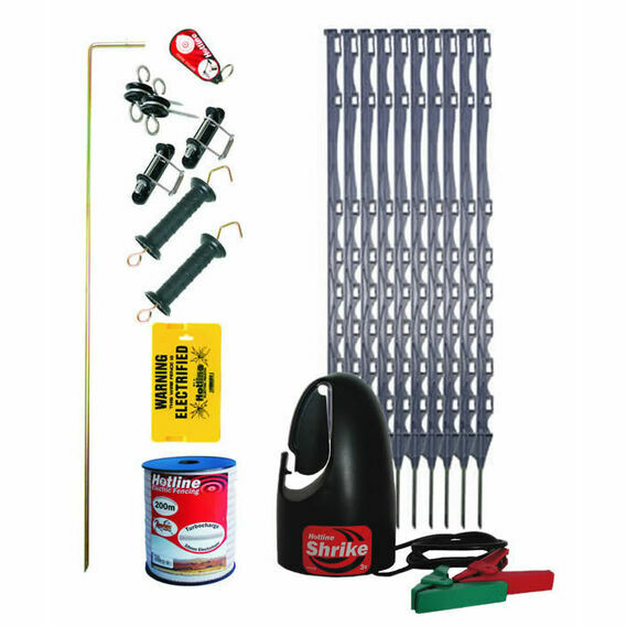 Hotline 100m Horse Electric Fence Kit
