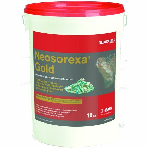 Neosorexa Gold Rat & Mice Bait 18KG