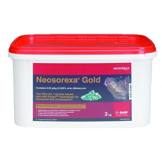 Neosorexa Gold Rat & Mice Bait 3 KG
