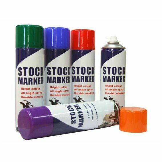 Stock Marker Spray - 12 x 450ml