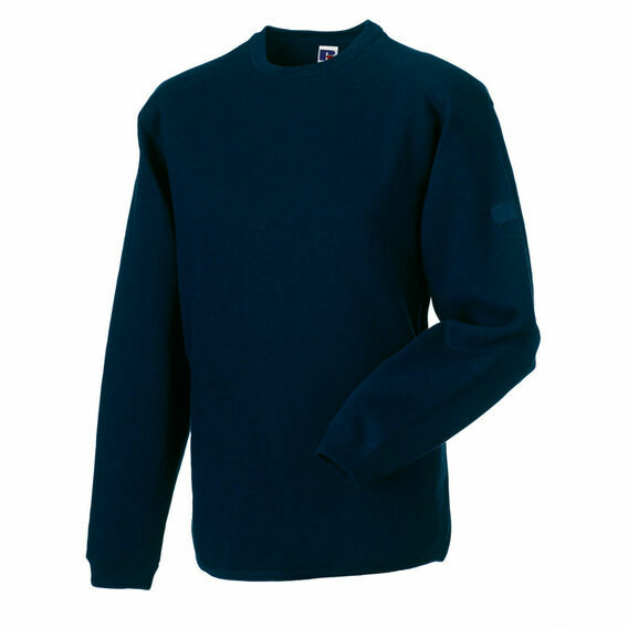 Russell Crew Neck Set In Sweatshirt - French Navy
