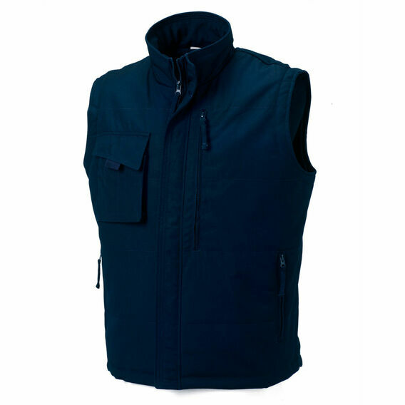 Russell Heavy Duty Gilet - French Navy