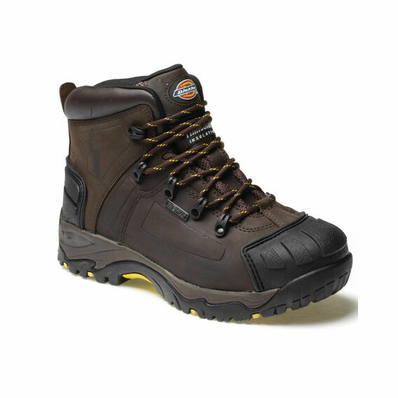 Dickies Medway Super Safety S3 Boots - Brown
