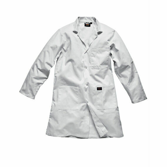 Dickies Redhawk Warehouse Coat - White