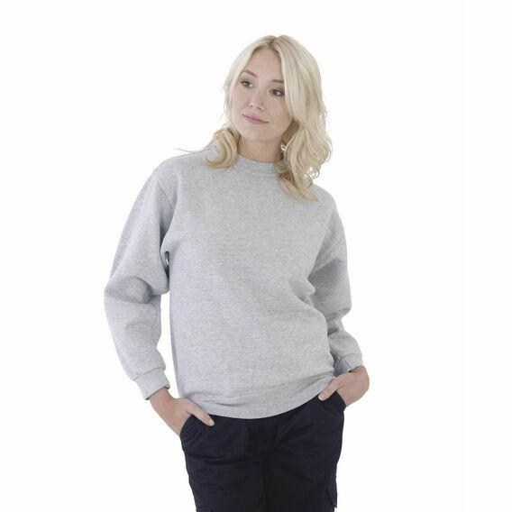 Ultimate Clothing Collection 50/50 Heavyweight Set-In Sweatshirt - Heather Grey